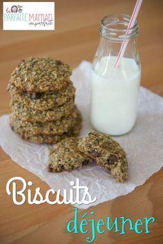 Les biscuits déjeuner, une belle alternative aux bols de céréales et aux toast beurre d'arachides