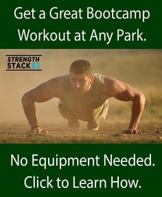 Tired of the gym?  Looking for something new, fun, and extremely effective?  Try a bootcamp style workout at your local park.  Click to learn how.  http://strength.stack52.com/bootcamp-workouts/