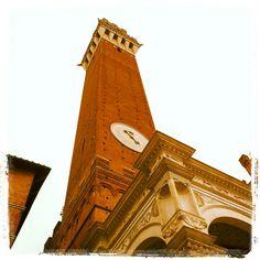 Siena Tuscany Torre del Mangia Piazza del Campo