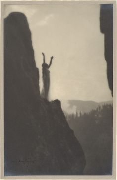 Incantation Anne W. Brigman (American, 1869–1950) Date: 1905 Medium: Gelatin silver print Dimensions: 27.2 x 17.2 cm (10 11/16 x 6 3/4 in.)