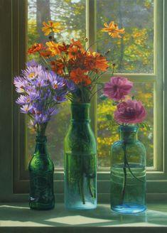 Autumn Flowers  // Artist Scott Prior