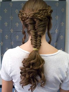 The Caryatid Project Ancient Celtic hair Roman Hairstyles, Braided Hairstyles, Wedding Hairstyles, Natural Hairstyles, Celtic Hair, Hair Dos, Hair And Nails, Hair Inspiration, Hair Beauty