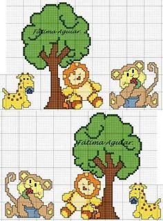 Giraffa- leoncino- scimmietta