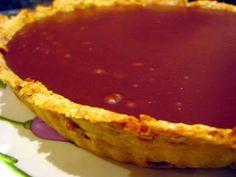 Tarte au chocolat d'après Jamie Oliver, pâte santé aux noisettes