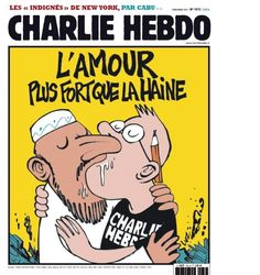 Charlie Hebdo -- Love is stronger than hate