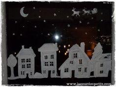 Afocal Bretagne. De la peinture pour les fenêtres. Peut aussi servir hors Noël ! Pensez à tester votre activité en amont !