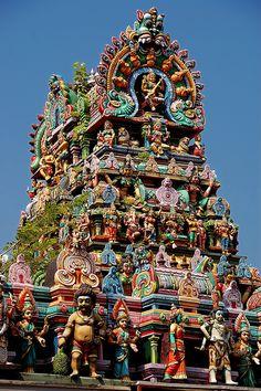 Meenakashi Hindu temple, Tamil-Nadu State, India