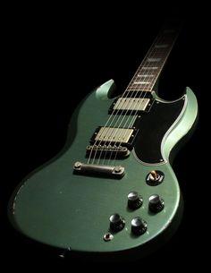 2009 Gibson SG Standard Reissue Prototype, Aged, Pelham Blue