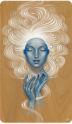Gina Kiel - Wellington, New Zealand Artist - Illustrators - Artistaday.com