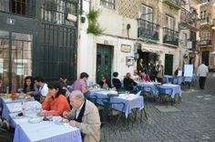 Flor dos Arcos - Restaurant typique face au Musée du Fado - Alfama, Lisbonne