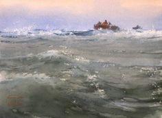 """""""Через прибрежные волны""""   """"Through the coastal waves"""""""