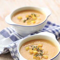 Тыквенный суп сяблоками
