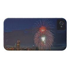 USA, Illinois, Chicago, Fourth of July fireworks Blackberry Bold Case