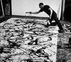 jackson pollock kunst - Google zoeken