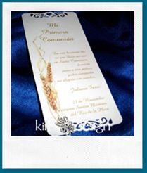 Modelos de tarjetas de Comunión y Confirmación