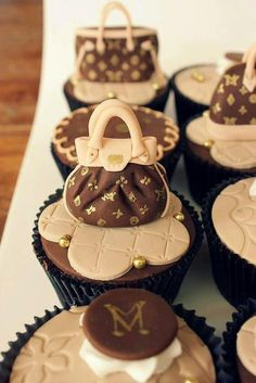 Stylish Cupcakes