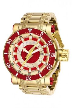 Invicta Coalition Forces DC Comics The Flash Limited Automatic Watch 26827 886678322695 Stainless Steel Watch, Stainless Steel Bracelet, Cool Watches, Watches For Men, Dc Comics, Best Watch Brands, Flash, Watch Sale, Automatic Watch