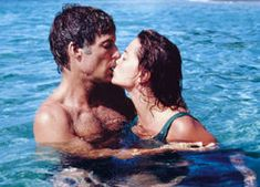 The Thorn Birds ~ Father Ralph (Richard Chamberlin) & Meggie (Rachel Ward) kiss. #TV #Television