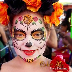 Color Me Face Painting Halloween and Sugar Skulls
