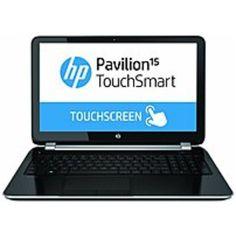 HP Pavilion TouchSmart E8A65UA 15-n020us Notebook PC - AMD A6-5200 2.0 GHz Quad-Core Processor - 4 GB DDR3L SDRAM - 750 GB Hard Drive - 15.6-inch Touchscreen Display - Windows 8 64-bit - Silver