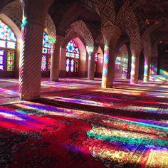 Nasir-ol-Molk Mosque | مسجد نصیرالملک in شیراز, فارس