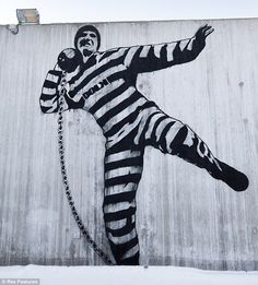 Banksy scores another point with this social commentary.