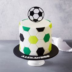 21+ Excellent Image of Soccer Birthday Cakes Soccer Birthday Cakes Soccer Birthday Cake #DiyBirthdayCake Soccer Birthday Cakes, Diy Birthday Cake, Football Birthday, Soccer Cakes, Birthday Ideas, Sport Cakes, Birthday Stuff, Baby Birthday, Soccer Theme