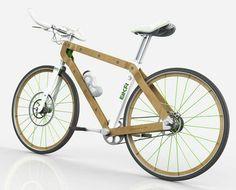 Wooden bike by Pietro