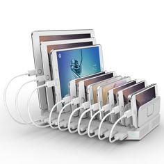 Handy Gadgets, Tech Gadgets, Best Charging Station, Charging Stations, Charging Center, Electronic Charging Station, Docking Station, Home Organization, Cell Phone Accessories