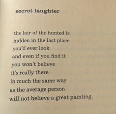 Charles Bukowski, from The Pleasures of the Damned.