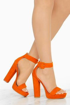 1a494f6ccec MINE🧡 New Limits - Orange - Miss Lola Orange Shoes