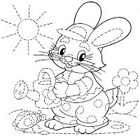 Kids Under 7: Variety of Tracing Worksheets for Kids (Select picture, then right click to print) (trace  color)