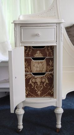 Beautiful Distressed Cottage Chic Vanity by Daniscustomdesigns, $295.00