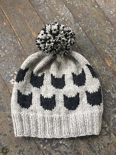 Ravelry: Kitten Hat pattern by Hill Vintage and Knits