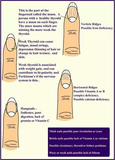 Fingernail analysis