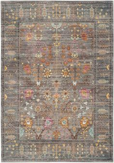 Potential Craft Room Rug VAL108C - Safavieh Rugs - Valencia Rugs - Polyester Rugs - Area Rugs - Runner Rugs