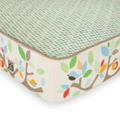 Finally a safe sleep solution that is also incredible stylish!NEW Skip Hop Treetop Friends Complete Sheet Coordinates beautifully with our Treetop Friends Airflow baby sleep bag @ kelsey cooper. Crib Sets, Crib Bedding Sets, Nursery Bedding, Baby Bedding, Sheets Bedding, Baby Sheets, Crib Mattress, Comforters, Mobile Musical