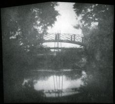 'Bridge with Ladders', 1840. Calotype.