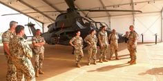 German soldiers stand near a helicopter at the MINUSMA. German soldiers stand near a helicopter at the… Der Leopard, Me 262, F-14 Tomcat, France, German, The Unit, Military, Information, Soldiers