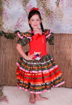 Vestido festa junina   Caipira   Quadrilha