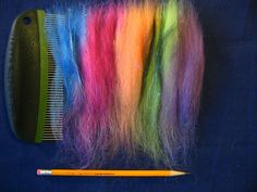 EXECELLENT tutorial for making rolags WITHOUT a blending board or hackle!!!