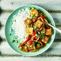 Red Pepper, Paneer & Coconut Curry