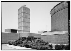 Frank Lloyd Wright, Johnson Wax, Classic Architecture, Willis Tower, Racine Wisconsin, Exterior, Street, Building, United States