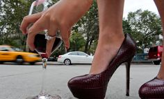 Ahh, shoes that go with my wine :)