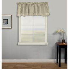 Elland Semi Sheer 52 Window Valance Window Valance Valance Panel Curtains
