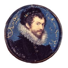 Nicholas Hilliard, Self-portrait, aged 30 - Nicholas Hilliard was born into the prosperous trading classes, the son of a goldsmith. By 1572 he had begun to work for Queen Elizabeth I John Smith, A Discovery Of Witches, Renaissance Jewelry, V & A Museum, Miniature Portraits, Irish Art, Friedrich, Art History, Tudor History