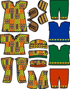 African Coloring Pages Africa