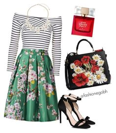 """""""spring #"""" by lightbird on Polyvore featuring Topshop, STELLA McCARTNEY, Dolce&Gabbana, Dorothy Perkins and Kate Spade"""