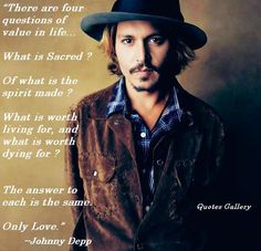 johnny depp quote