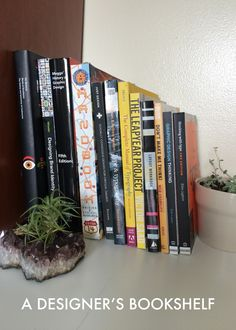 I've picked out nine books from my shelf to share that I hope other designers will find helpful. Check and see if your local library has them if you do not have the money, but I would recommend investing in building a design library. I've enjoyed referencing some of these books again and again, and am always looking to expand my shelf.